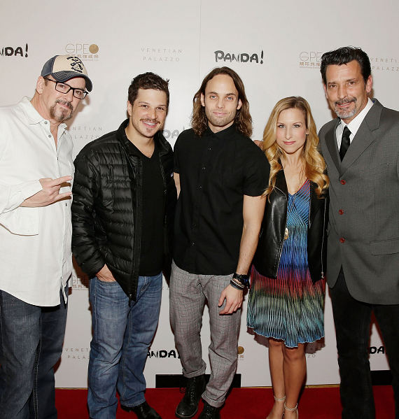 Cast of Rock of Ages at world premiere of PANDA!