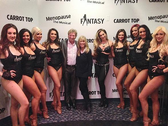 Producer Nigel Lythgoe Spotted with FANTASY Cast at Luxor Hotel in Las Vegas