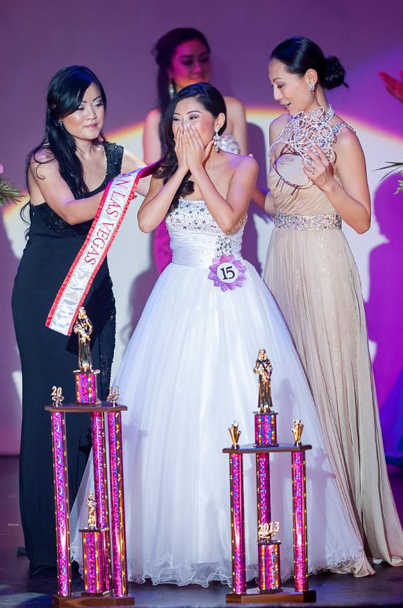 Catherine Ho crowned with founder Annie Chang