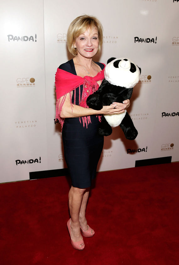 Cathy Rigby at world premiere of PANDA!
