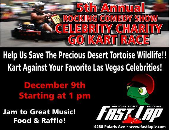 5th Annual Rocking Comedy Show Celebrity Charity Go Kart Race Dec. 9