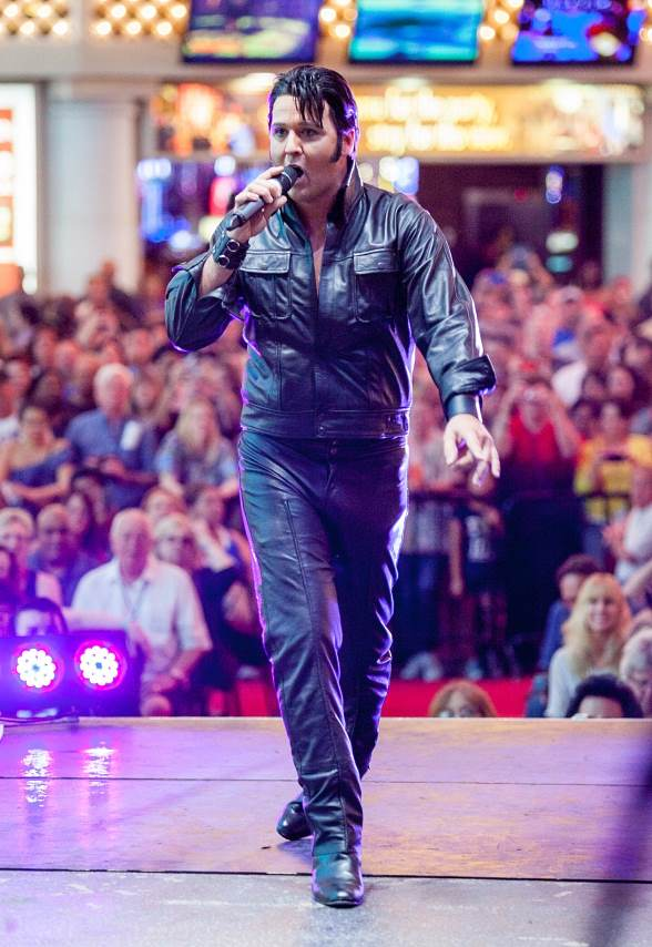 Las Vegas Resident Chad Collins, was named the Las Vegas Ultimate Elvis Tribute Artist at Fremont Street Experience