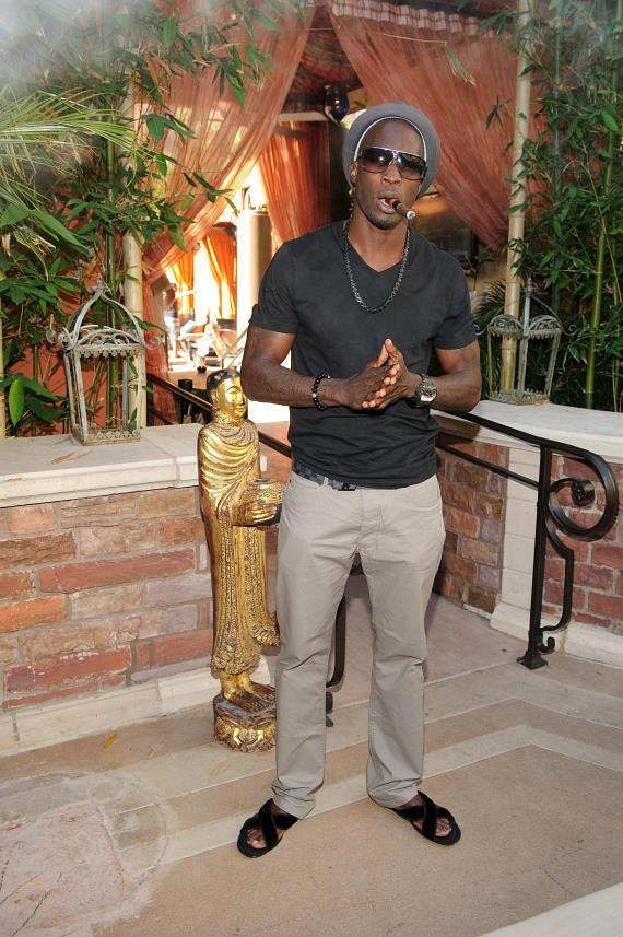 Chad Ochocinco at TAO Beach