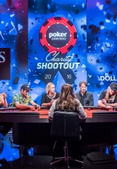 """Poker Central Charity Shootout"" Pits Celebrities Against Each Other with Two Specials on CBS Sports Network"