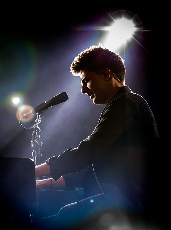 Charlie Puth at The Cosmopolitan