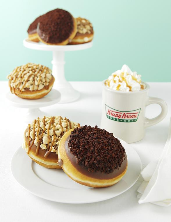 Enjoy Krispy Kreme's Sweet New Cheesecake Doughnuts