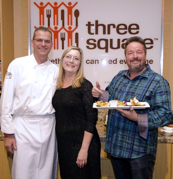 Chef John Hilton, Angie Fiore Fator and Terry Fator
