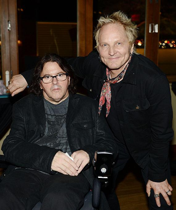 Chef Kerry Simon and drummer Matt Sorum
