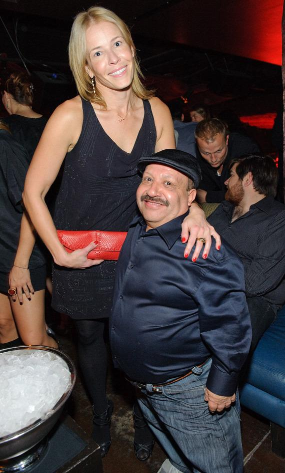 Chelsea Handler and Chuy at TAO