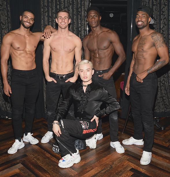 "Chester Lockhart Attends ""Magic Mike Live"" at Hard Rock Hotel & Casino in Las Vegas"