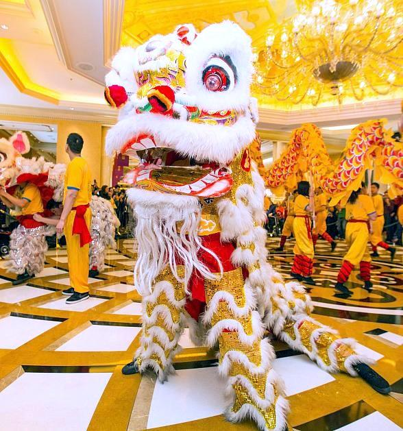 "The Venetian and The Palazzo Las Vegas Ring in the ""Year of the Rooster"" with a Ceremonial Lion Dance"