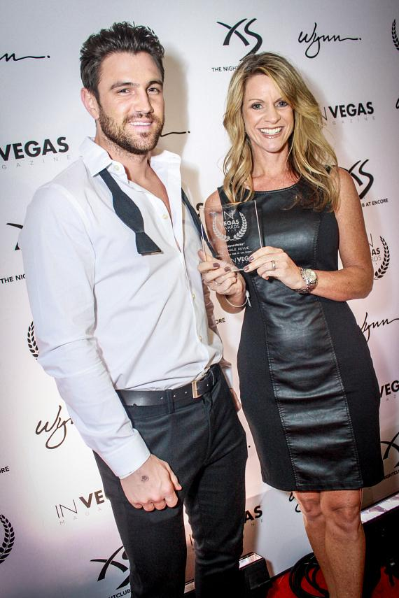 Chippendale and GM Kristen Makhathini at In Vegas Awards 2013 at XS Nightclub