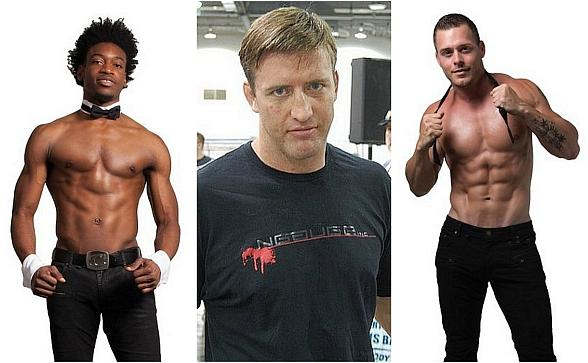 """Meet UFC Hall of Famer Stephan Bonnarplus Chippendales DancersDemitri Blizzeard and Ryan Worley at the 3rd Annual """"Mike Hammer Celebrity Go-Kart Race,"""" a Benefit for Veterans on Oct. 22 in Las Vegas"""