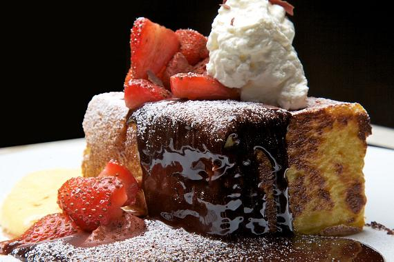 Chocolate Decadence French Toast