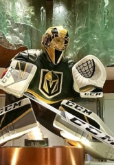 Bellagio Unveils Five-Foot Tall Marc-Andre Fleury Chocolate Sculpture; MGM Resorts in Las Vegas Offer Vegas Golden Knights Final Round Specials