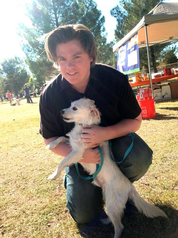 """Defending the Caveman"" Star Chris Allen Attends Animal Foundation's Forever Home Family Picnic"