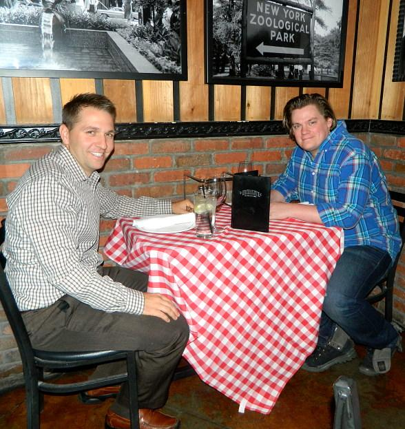 Chris Allen and Jeff Grandy at Grimaldi's