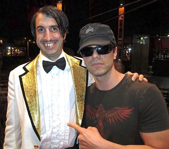 The Gazillionaire and Criss Angel at ABSINTHE
