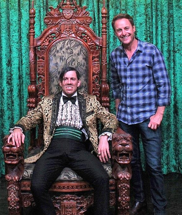 """The Bachelor"" Chris Harrison and The Who Keyboardist Loren Gold Attend ""ABSINTHE"" at Caesars Palace Las Vegas"