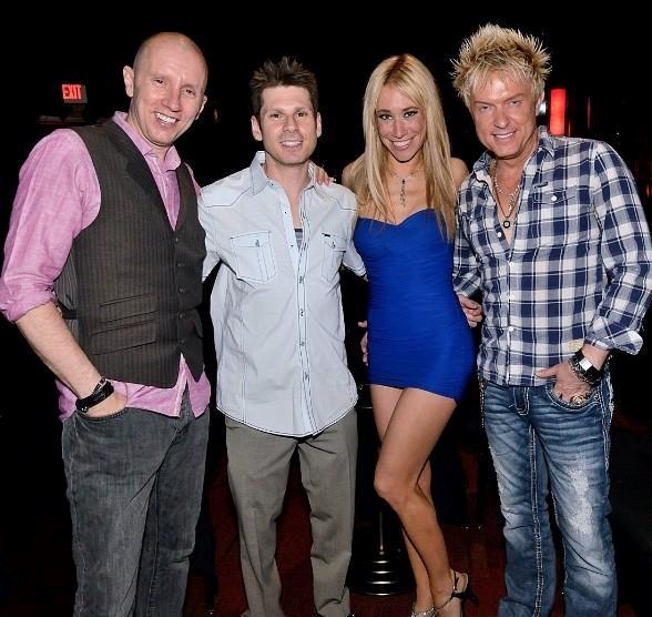 Andy Walmsley, Mike Hammer, Lydia Ansel and Chris Phillips (Zowie Bowie)