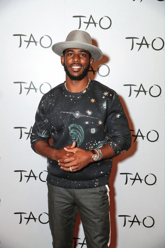 Chris Paul's Topspin After Party at TAO