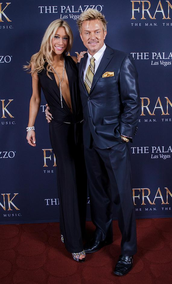 Johnny Galecki, Alison Sweeney, Laurie Metcalf, Questlove, Zowie Bowie, Dick Vermin and more Celebrate the Opening of FRANK - The Man. The Music.' at The Palazzo Las Vegas