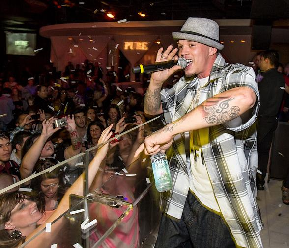 The X Factor's Chris Rene Makes Las Vegas Debut at PURE Nightclub