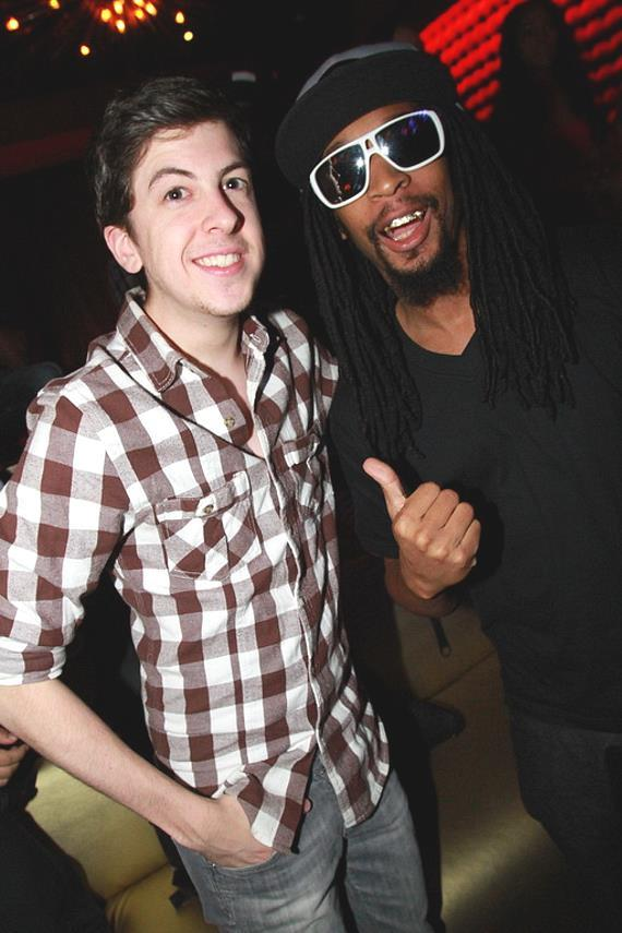 Chris Mintz and Lil Jon at Vanity