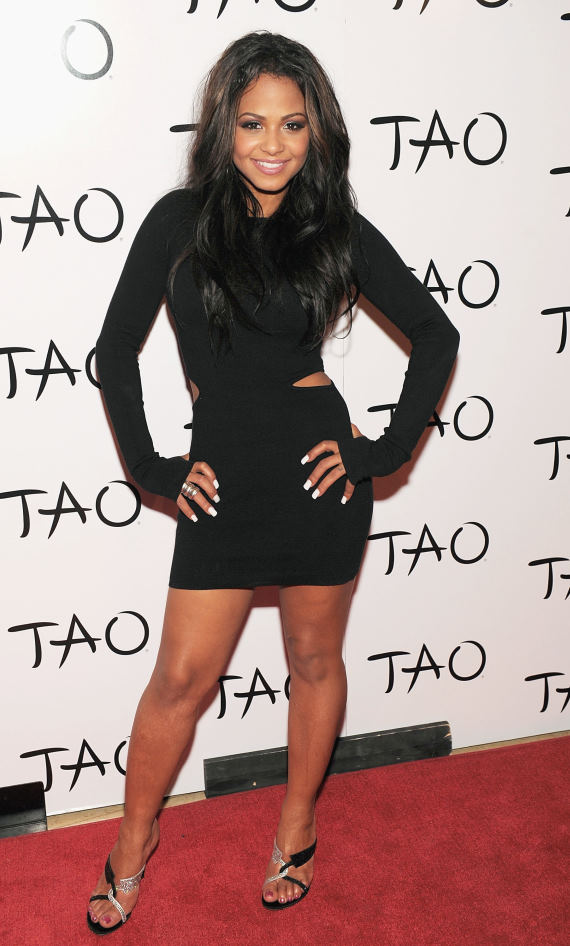 Christina Milian at TAO Las Vegas