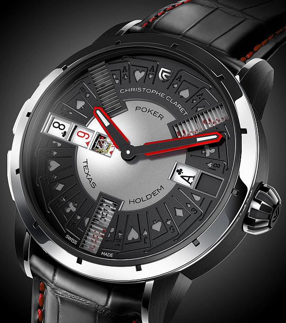 The Poker Watch by Christophe Claret