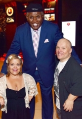 """Little Women LA"" Stars Christy and Todd Gibel Attend George Wallace Show at Westgate Las Vegas Resort & Casino"
