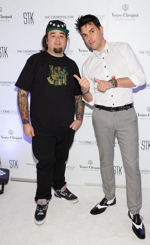 Chumlee and Frankie Moreno
