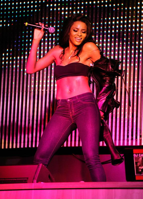 Ciara performs live at Chateau Nightclub & Gardens at Paris Vegas