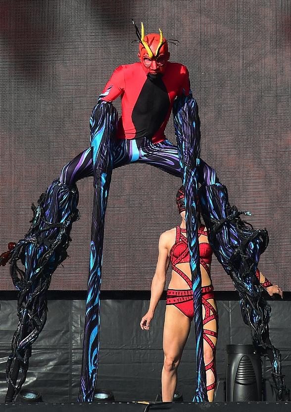 Cirque du Soleil Ignites Rock in Rio with Explosive Never-Before-Seen Performance