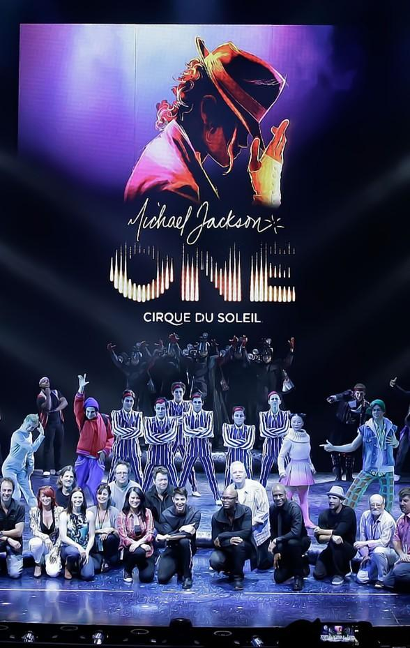 """Michael Jackson ONE by Cirque du Soleil"" Performs at Las Vegas Aces Game on Sunday, Aug. 11"