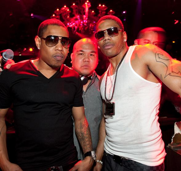 City Spud, DJ Five & Nelly at TAO