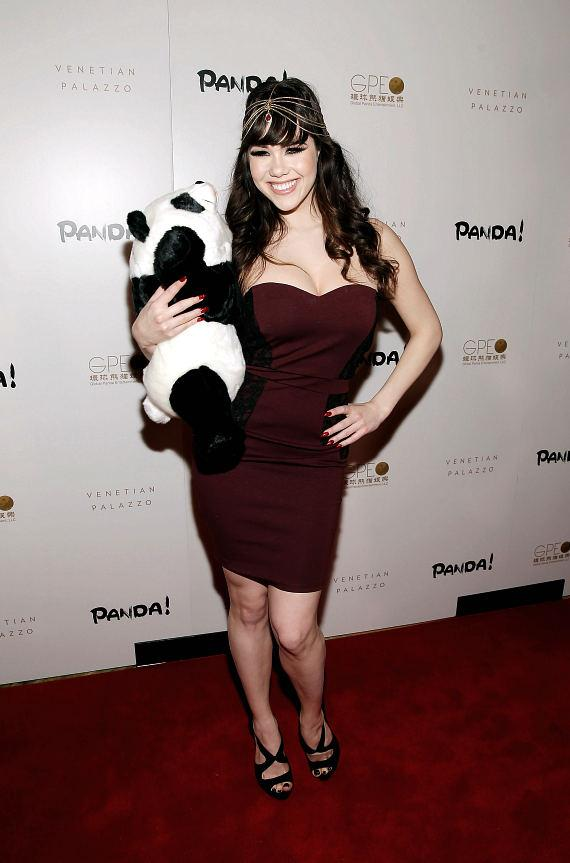 Claire Sinclair at world premiere of PANDA!
