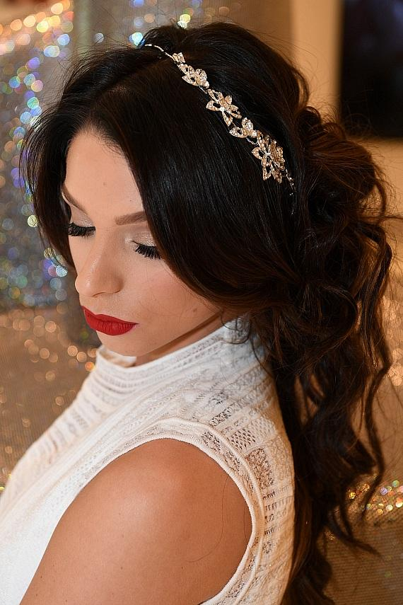 Claude BARUK Salons Valentine's Day Accessories and Long Loose Curls