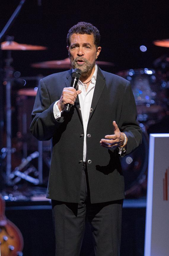 Clint Holmes performs at the second annual Heart of Eduation Awards at The Smith Center, April 29, 2017