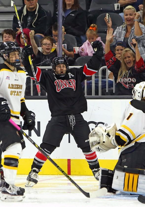 UNLV Rebel Hockey to Host Home Opener at City National Arena in Las Vegas