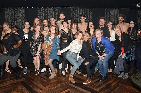 """""""Come from Away"""" Cast Attends """"Magic Mike Live"""" in Hard Rock Hotel Las Vegas"""