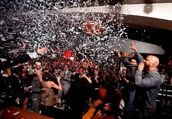 Common counts down NYE at Hyde Bellagio, Las Vegas