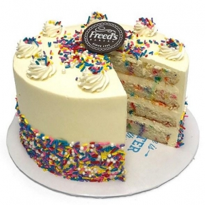 "Freed's Bakery of Food Network's ""Vegas Cakes"" to Offer Exclusive Confetti Cake for National Cake Day"