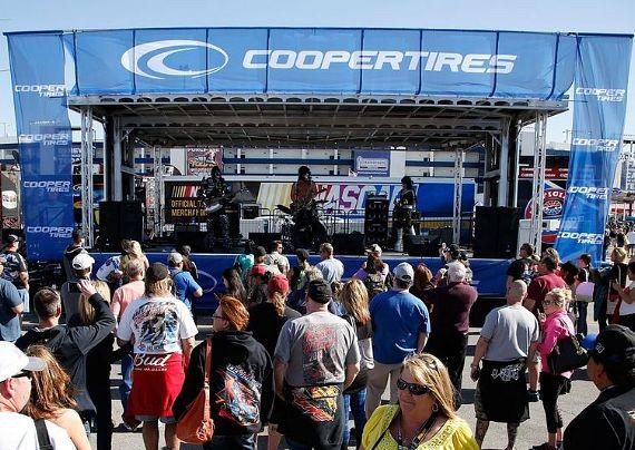 Cooper Tires Stage
