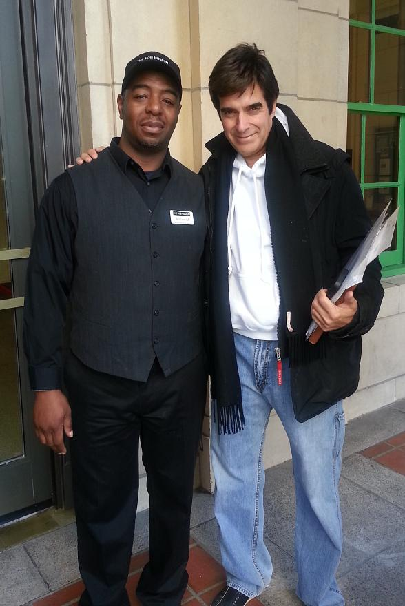 Magician David Copperfield Visits The Mob Museum, The National Museum of Organized Crime and Law Enforcement