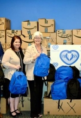 Treasure Island Las Vegas Employees Deliver Thousands of School Supplies to Downtown Ruffin Clinic