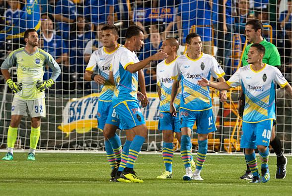 Las Vegas Lights FC Strikers Come up Clutch in Wild 3-3 Draw at Reno 1868 FC