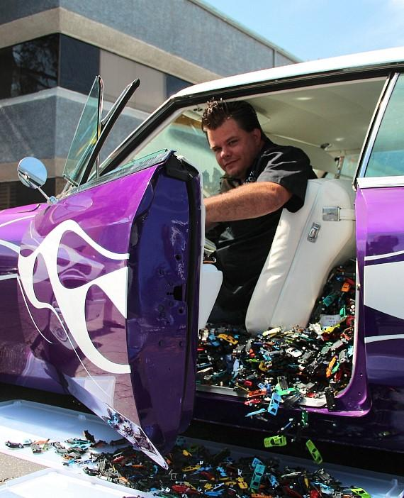 HISTORY's 'Counting Cars' Donating Thousands Of Toy Cars