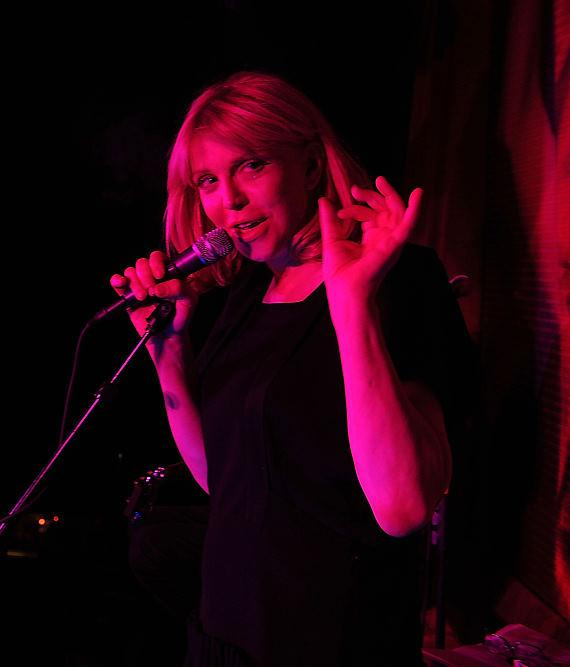 Courtney Love performs at TAO