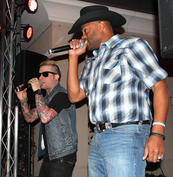 Cowboy Troy and DJ Sinister Performing at Chateau